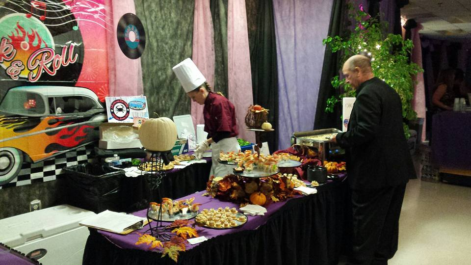 buffet at catering event Maryland